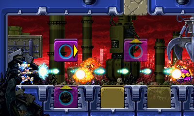 Mighty Switch Force! Screen